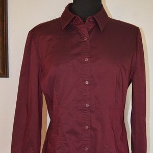 Blouse Shirt BUTTON DOWN Size XL New York & Compan